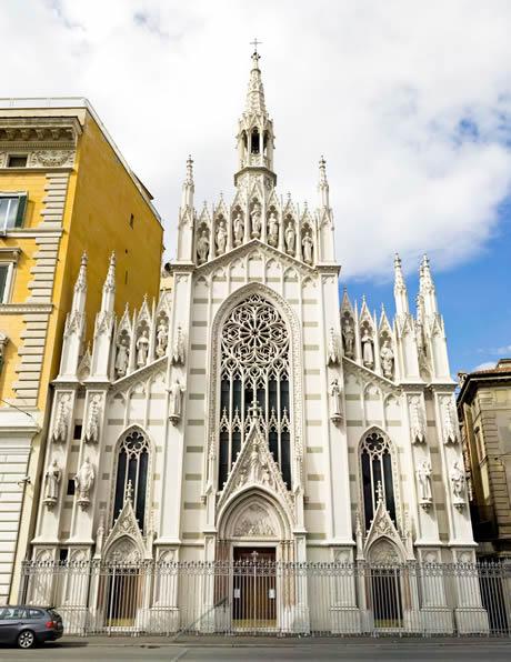 Καθολική εκκλησία στη Ρώμη φωτογραφία