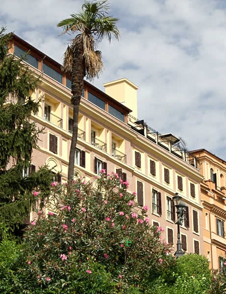 Hotel Hassler a Roma foto